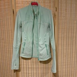 Lululemon Forme jacket in fresh teal size 6